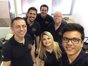 Equipe que faz o Portal ERP